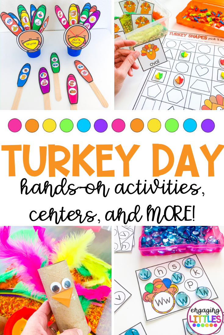 turkey themed activities for the classroom