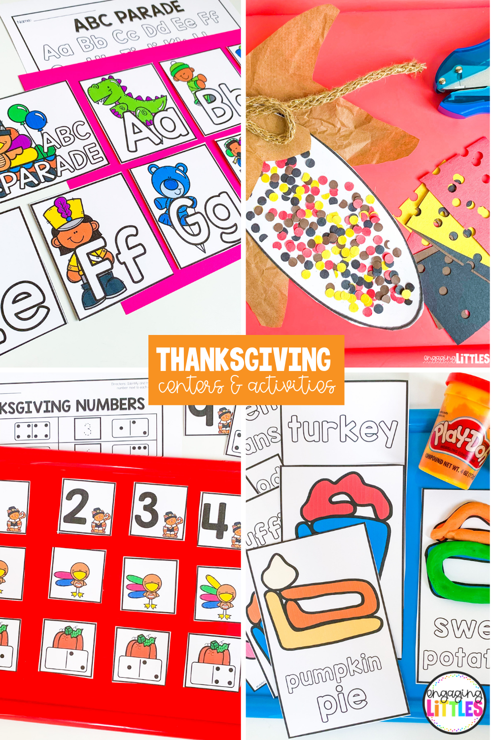 thanksgiving centers for kids