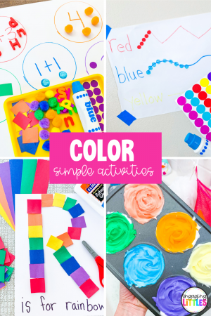 rainbow color activities for kids