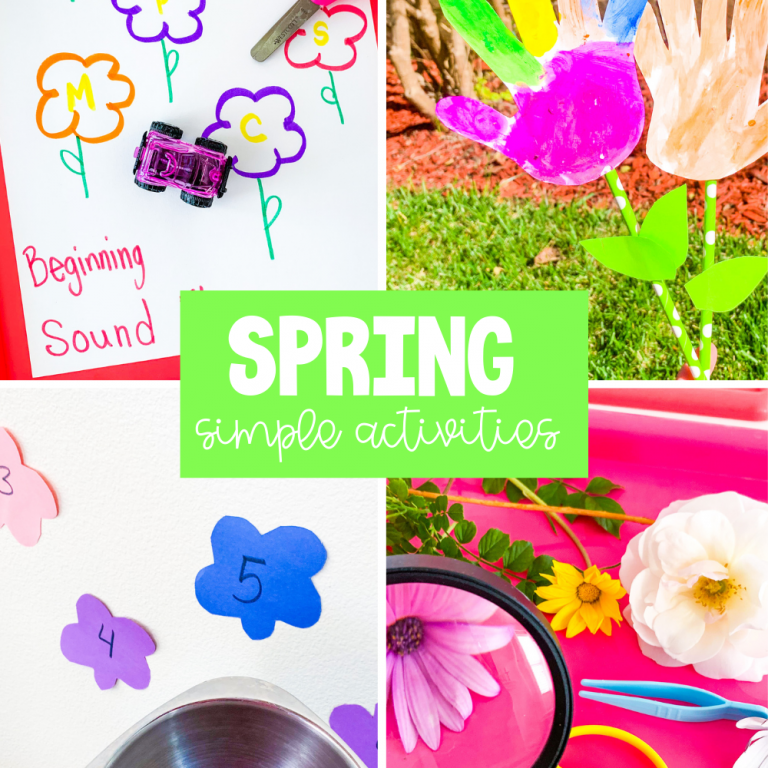 spring simple activities for kids