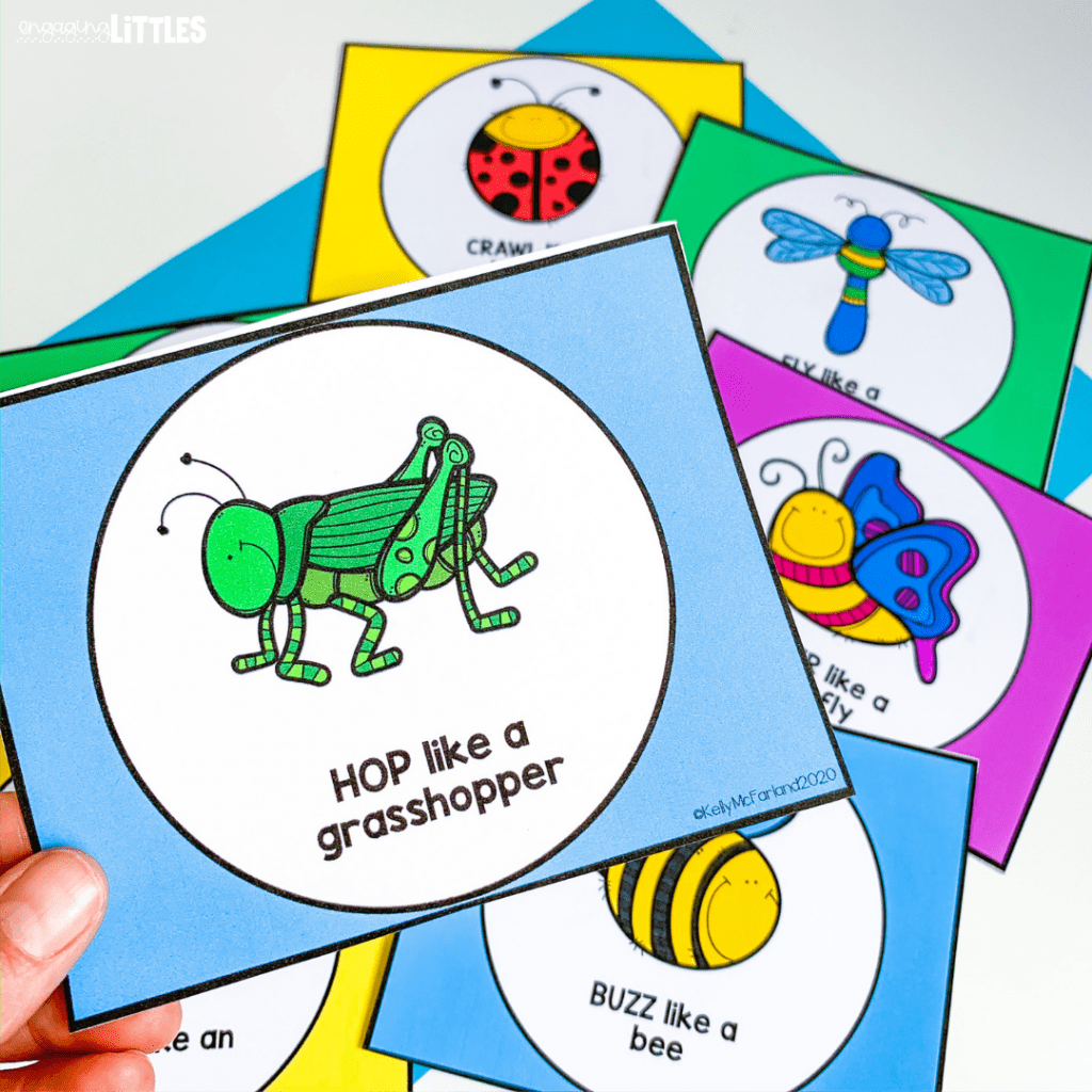 insect action cards
